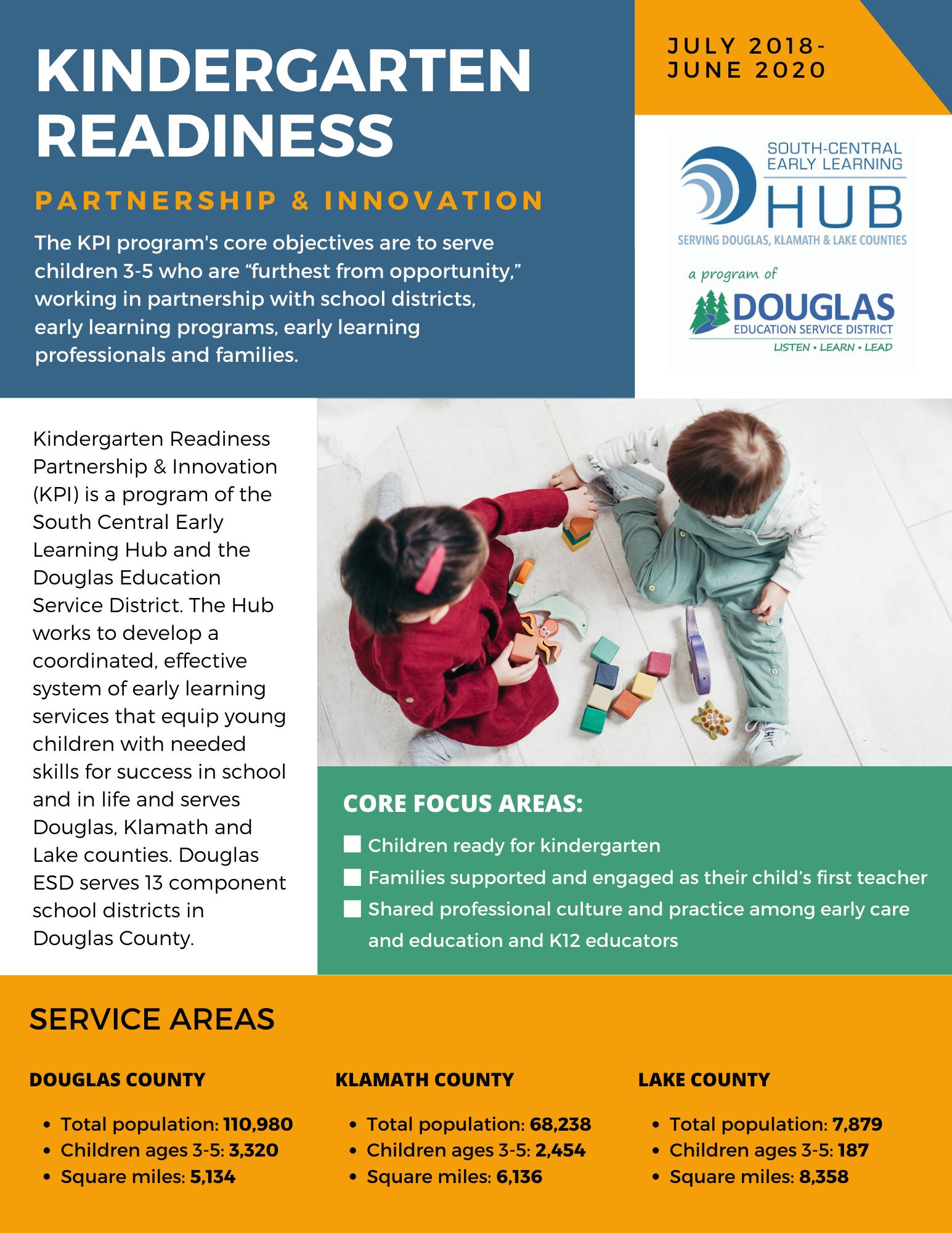 Kindergarten Readiness Partnership and Innovation report