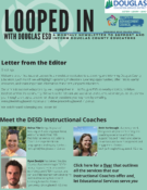 Front page of Looped In newsletter