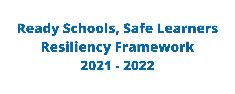 Ready Schools, Safe Learners logo